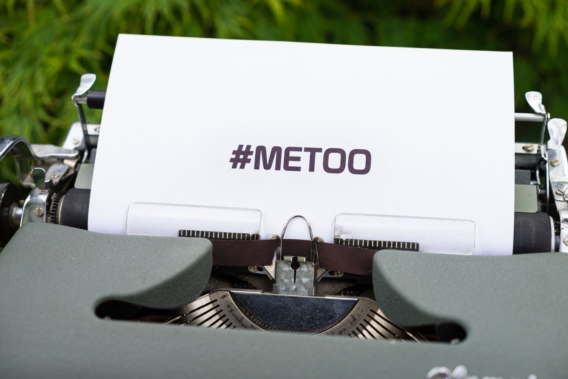 #metoo typemachine